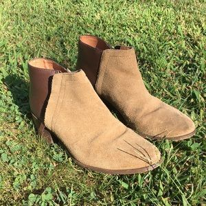 Madewell Cait Ankle Booties Worn Only a Few Times